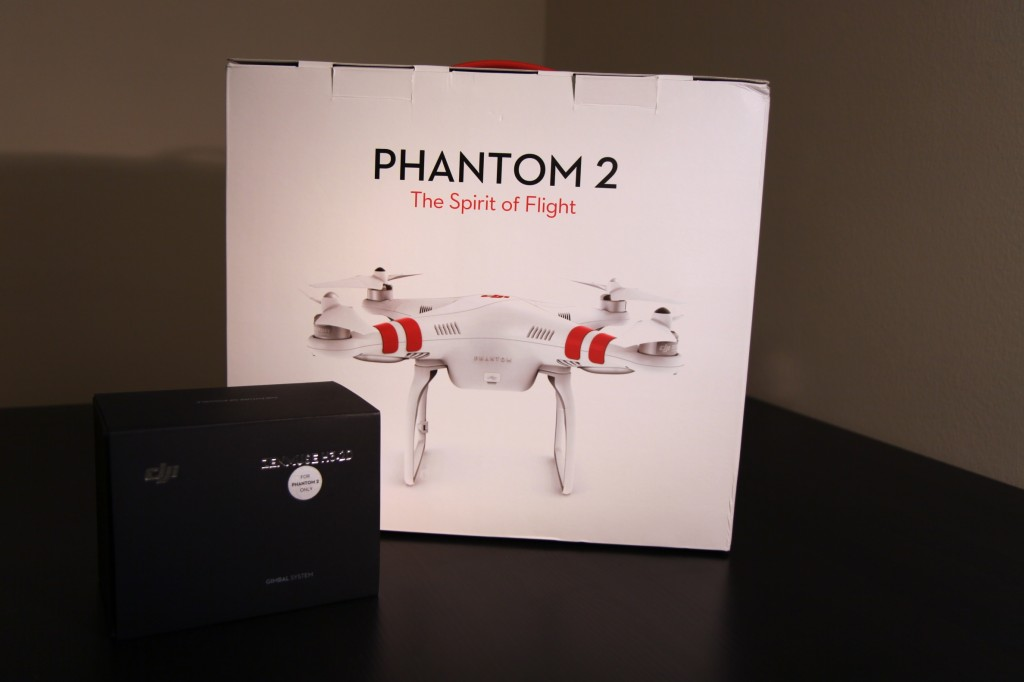 DJI Phantom 2 Unboxing