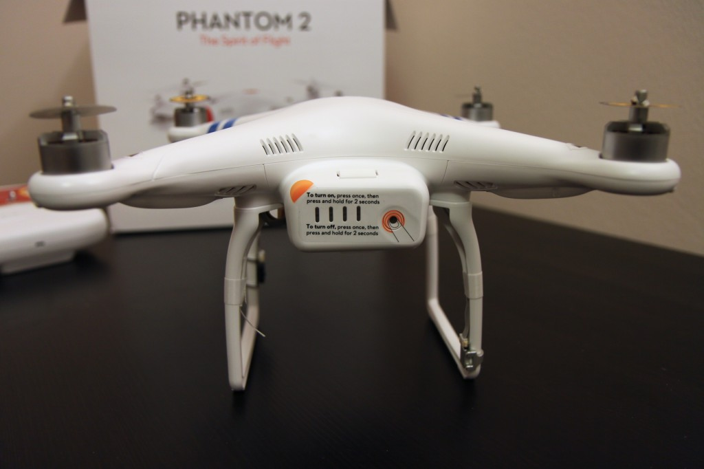 rear side of Phantom 2