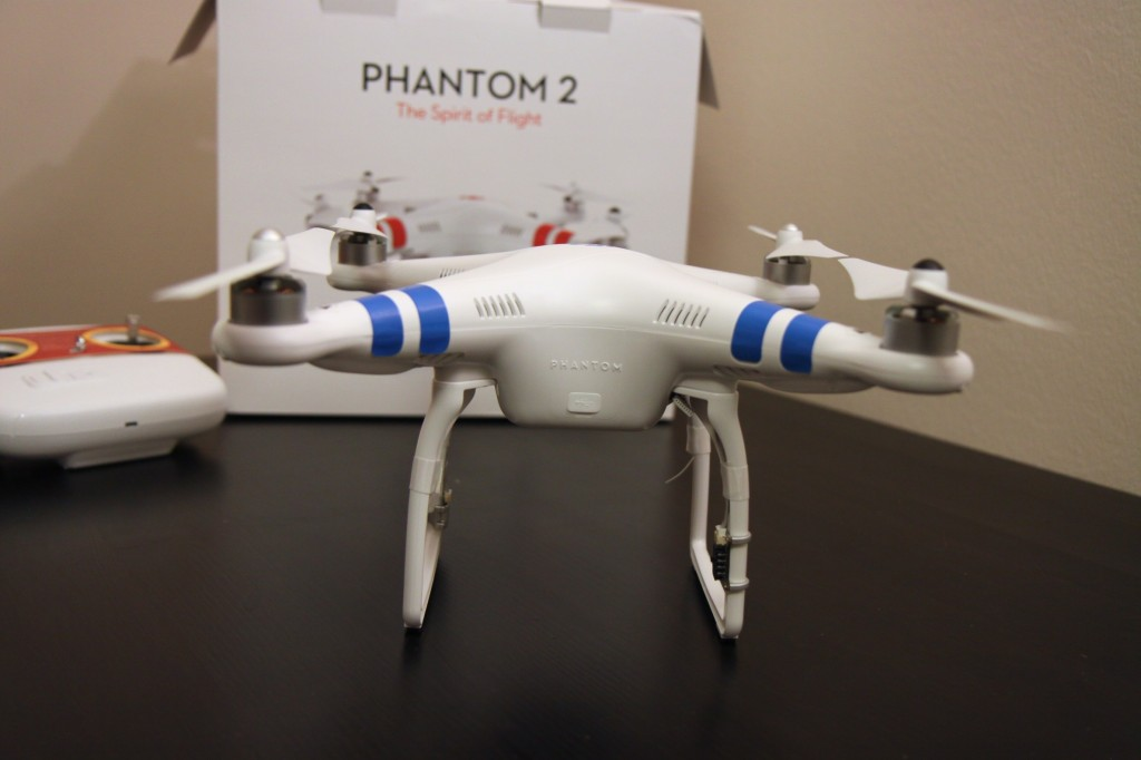 Looking like a real quadcopter