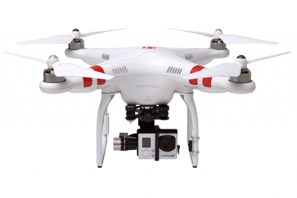 Upgraded DJI Phantom 2