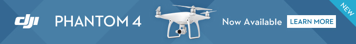 DJI Phantom 4 Banner - Learn More