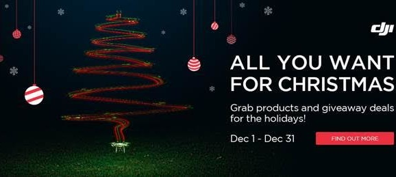 DJI Christmas Specials 2015 – Phantom 3 and more!
