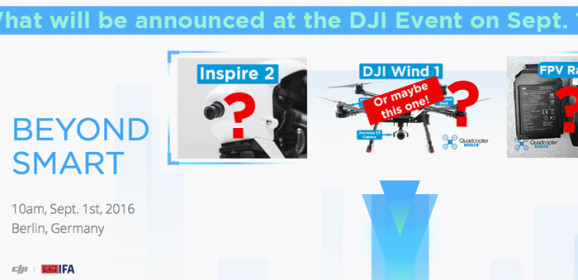 DJI Beyond Smart Event – Sept. 1st in Berlin