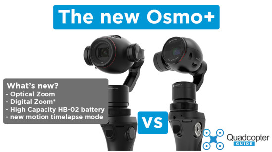 DJI Osmo+ vs the DJI Osmo