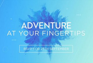 DJI Mavic Release Event Invitation