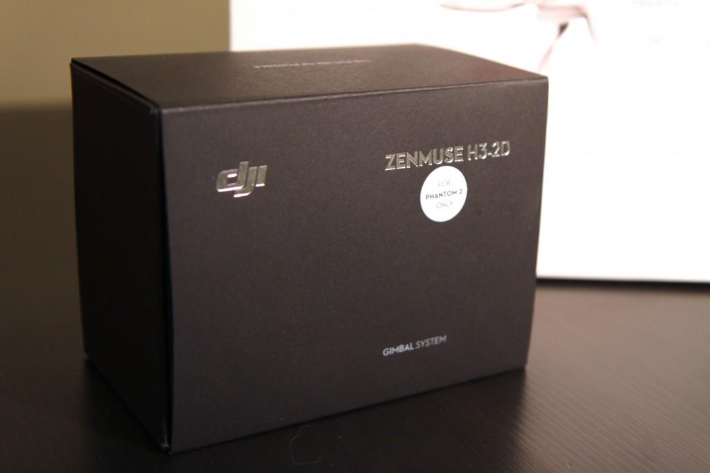 Zenmuse H3-2D Gimbal box