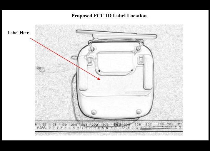 DJI Inspire 1 FCC Remote Control