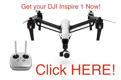 Get your DJI Inspire 1!