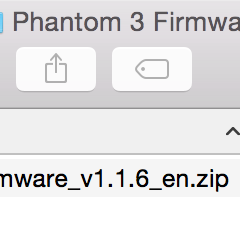 How to do a Phantom 3 Firmware Upgrade