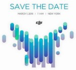DJI sends out Save the Dates for Phantom 4 Release
