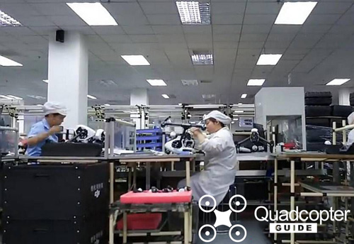 DJI Inspire 2 Factory