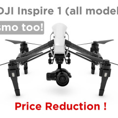 DJI Inspire 1 and OSMO Receive Discounts