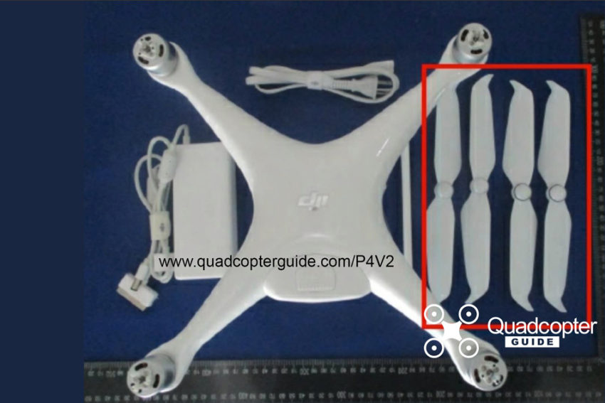 DJI Phantom 4 Pro V2 Rumors - leaked props