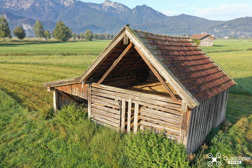 DJI Mavic 2 Pro Review - feed storage shack