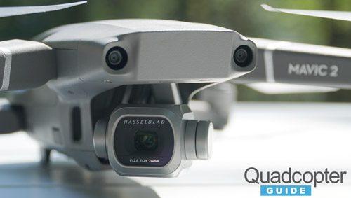 DJI Mavic 2 Pro Review - CloseUp of the Hasselblad Camera