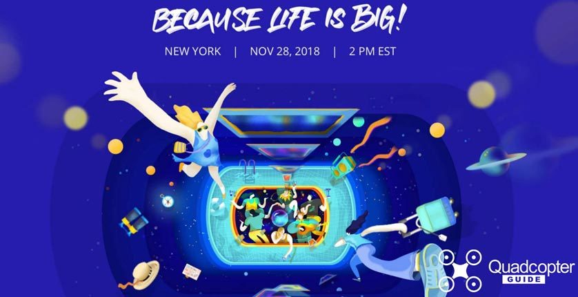 DJI Because Life is Big Event Invite