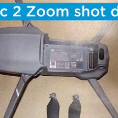 DJI Mavic 2 Zoom assisting in missing Dog search shot down in Long Island,NY