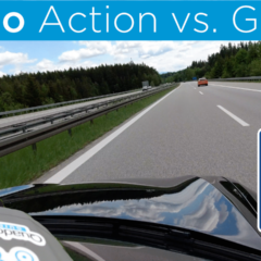 Osmo Action vs. GoPro Hero 7 – Tesla Model S & AUTOBAHN!