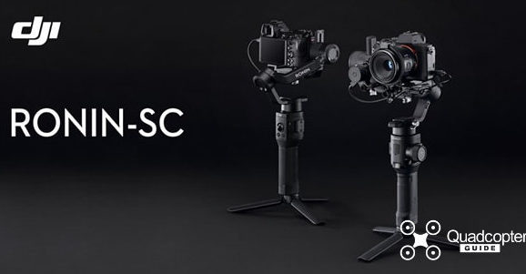 DJI launches new Ronin SC – compact gimbal with ActiveTrack 3.0