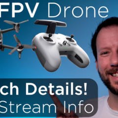 DJI FPV Drone Launch – Everything you need to know!