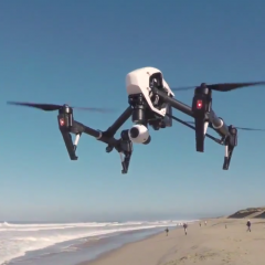 DJI Inspire 1 quadcopter officially released